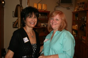 Barbara Cohen of The Worth Collection and Diane Fonteboa of Two Tomatoes Boutique