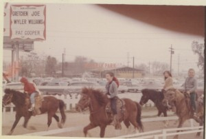 The pony rides next to Beverly Park where the Beverly Center now stands
