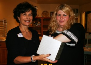 Barbara Cohen, IDTT Marketing Coordinator with Sara Polinsky
