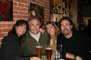Friends share a nightcap at Vinoteca Wine Bar