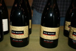 Ken Brown wine