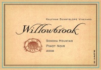 Willowbrook Cellars - 2008 Pinot Noir - Kaufman Sunnyslope Vineyard