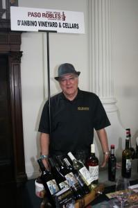 Carmine Rubino of D'Anbino Vineyards and Cellars