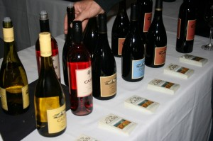 Cass wines being poured at the Stars of Paso Robles - 2011