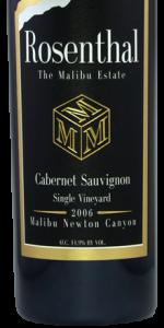 "Rosenthal 2006 ""M"" Block Cabernet Sauvignon"