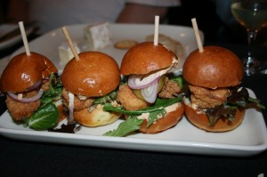 Shrimp Po Boy Sliders