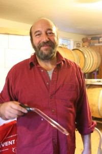 Stuart Goldman, owner/winemaker of Frolicking Frog Cellars