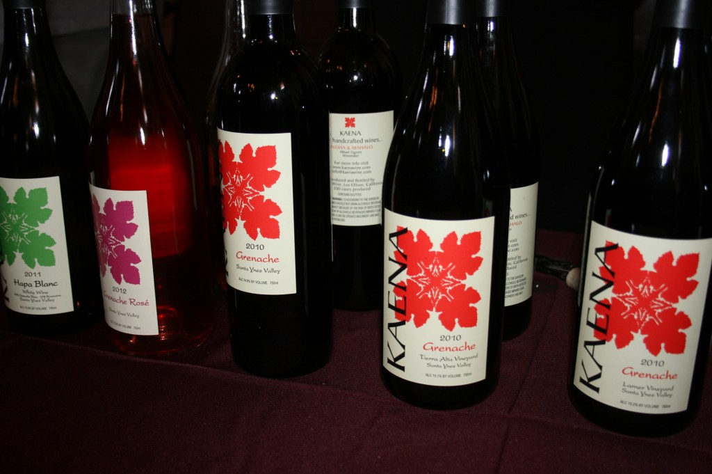 Kaena wines at Garagiste Festival Southern Exposure 2013