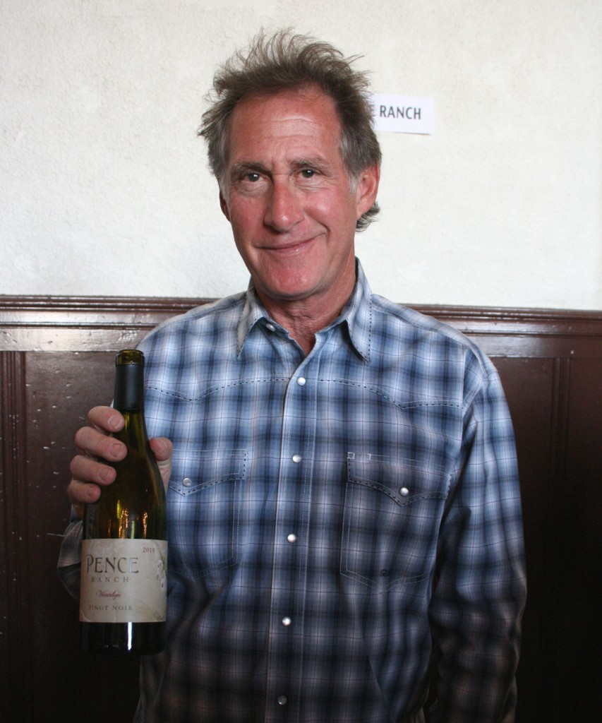 Jeff Fink, winemaker, Pence Ranch