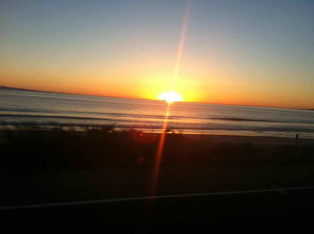 Sunset at Ventura Beach