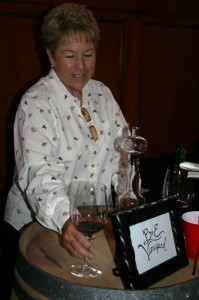 Patty Bello of B & E Vineyards