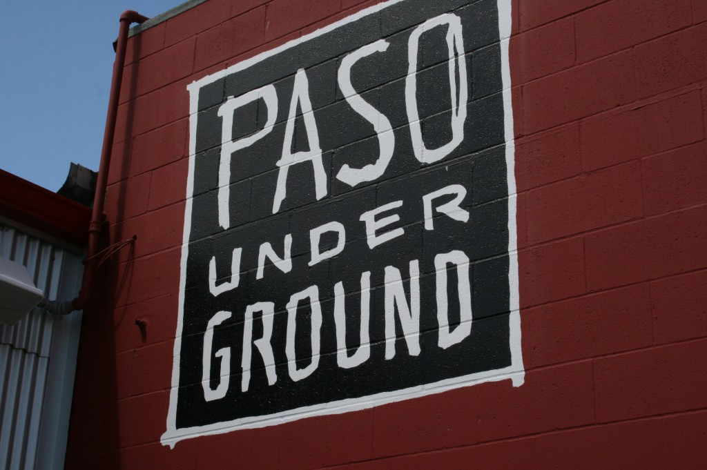 The Paso Underground Tasting Room