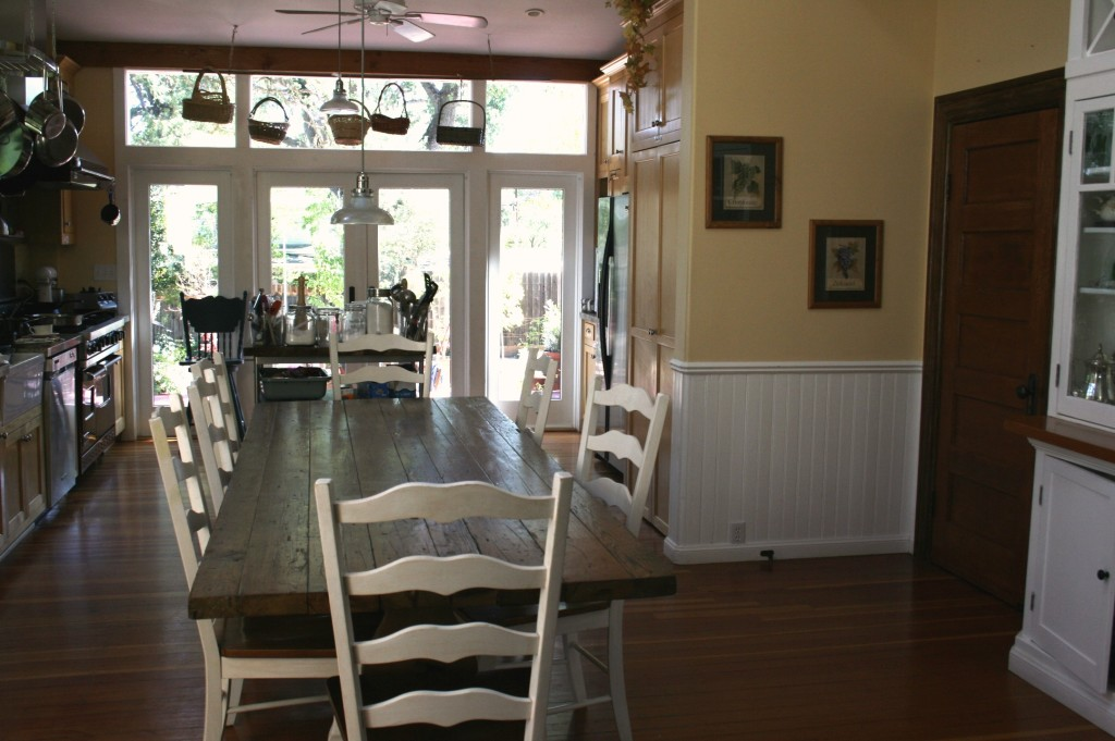 Farmhouse kitchen at Emily's Hous Bed and Breakfast Paso Robles