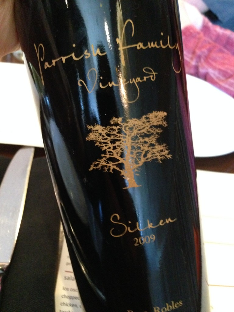 Parrish Family Vineyards - 2009 Silken