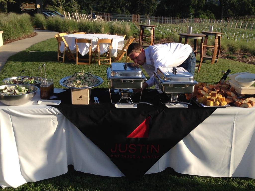 CABS of Distinction - 2014 - Justin Vineyards BBQ