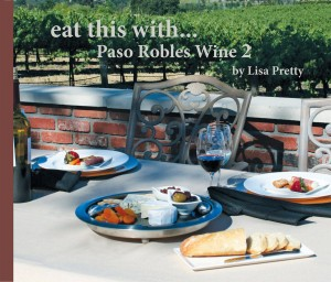 East this with Paso Robles wine - cookbook cover