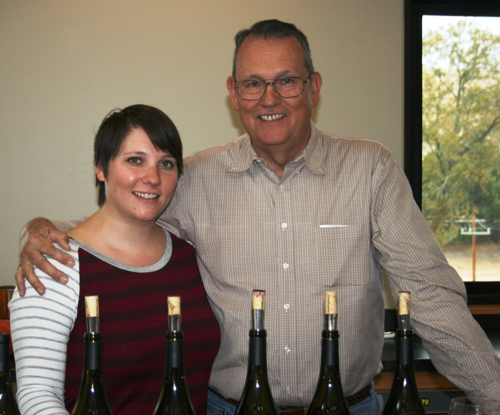 Maggie and Bob Tillman, Alta Colina Vineyard, Adelaida Road, Paso Robles, California