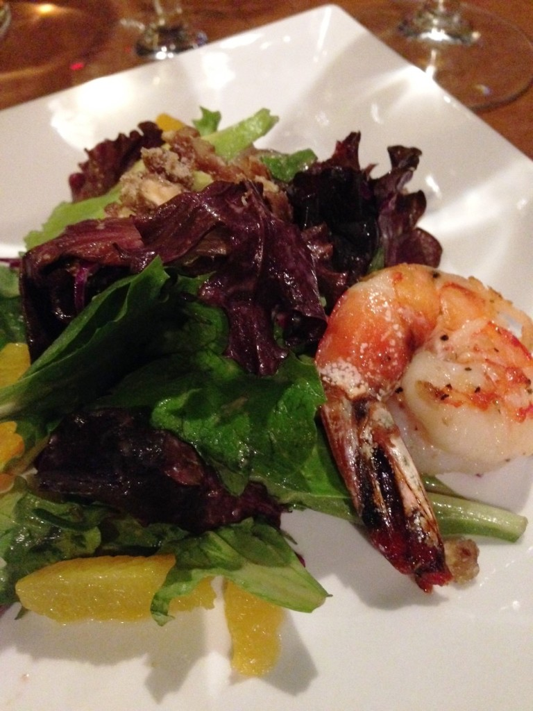 Walnut Prawn Salad - The Independent Restaurant and Bar