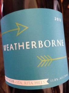 Weatherborne Pinot Noir Garagiste Festival 2015