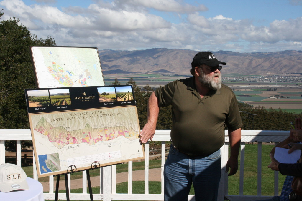 Andy Mitchell, Director of Viticulture, Hahn Family Wines