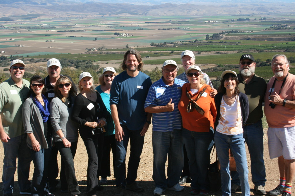LA Wine Writers at Hahn Family Wines