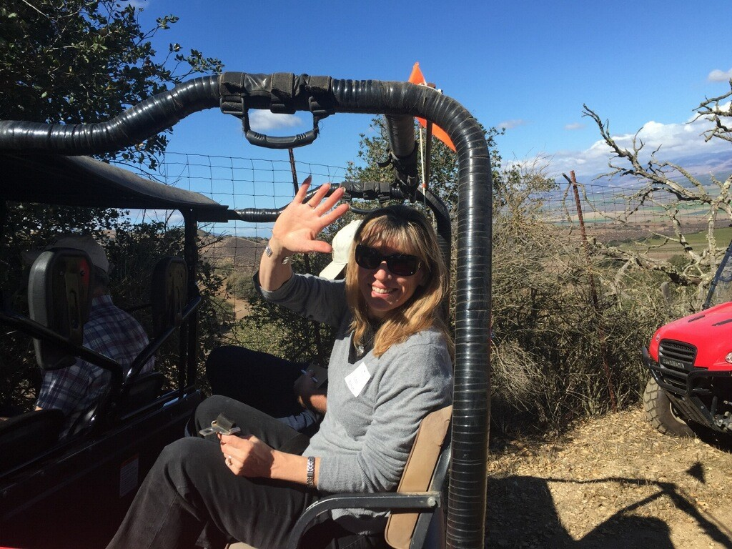 ATV tour of Hahn Family Wines estate vineyards