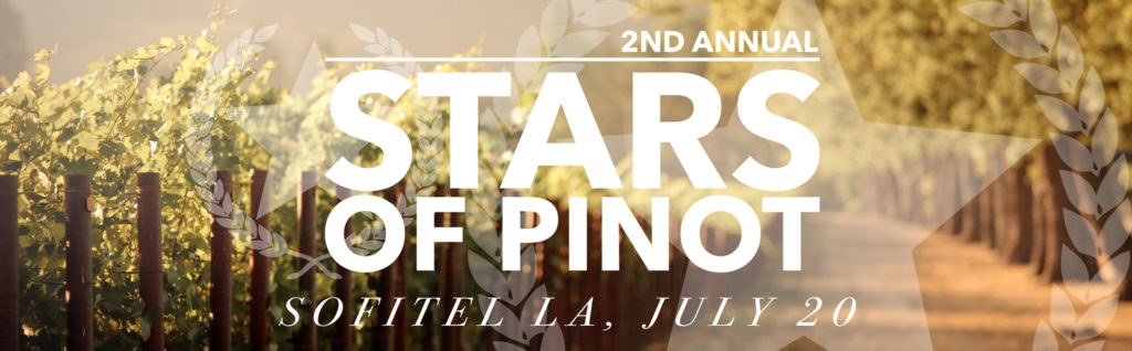 wine tasting Los Angeles Stars of Pinot 2016